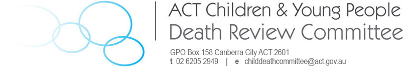 ACT Children and Young People Death Review Committee Logo
